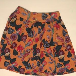 Anthropologie High Waisted Skirt
